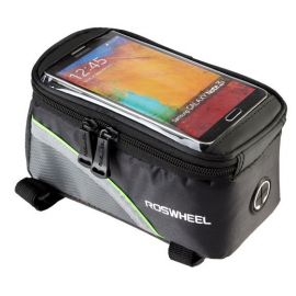 Sakwa uchwyt rowerowy na telefon/smartfona 5.2-5.7 cali zielony